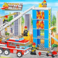 Jual Lego Chaobao The Fire Rescue ( Mobil Pemadam Kebakaran ) Murah