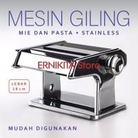 GILINGAN MIE, PASTA & MOLEN  Stainless FREE BUBBLE + DUS NOODLE MAKER