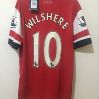 ORIGINAL Jersey Arsenal Home 12/14 2012 SS Wilshere BNWT