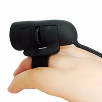 K04 Mini Optical Finger Laser Mouse Jari manis Tangan Flash logitech r