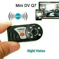 Jual Mini DV Wifi Camera Q7 / Camera Mini DV P2P Night Vision Infrared Q7 Murah