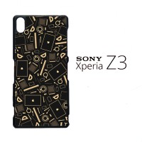Coffee Addict Between Coffe and Apple 0169 Casing for SONY Xperia Z3 H