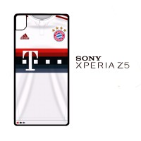 Bayern Munchen Jersey 2015-2016 0010 Casing for SONY Xperia Z5 Hardcas
