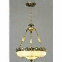 lampu gantung teras antik motif tradisional adat betawi unik bagus