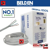 Kabel UTP BELDEN CAT 5 USA ORIGINAL Cat5 e Meteran CROSS STRAIGHT