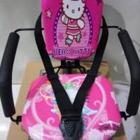 kursi boncengan anak / tempat duduk anak di depan motor