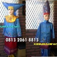 Minangkabau Couple SD 4-6 |Baju Adat Kostum Karnaval Pentas Seni Anak
