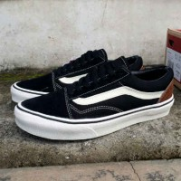 Sepatu Vans Old Skool Black Baja Original Vietnam High Quality