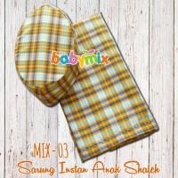 Babymix - Sarung Instan Anak Shaleh Size 1-5 T - Peralatan Shalat