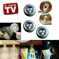 stick touch lamp/ stick n klik lampu lemari darurat