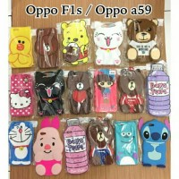 CARTOON CASE 4D OPPO F1S / OPPO A59