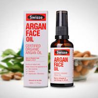 Swisse Argan Face Oil 20ml - Certified Organic