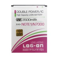 Baterai Double Power Log on Samsung Note1 Note 1 Batre Batere Battery