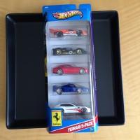 Hot Wheels Ferrari 5-Pack (Gift Pack) 2013 Edition