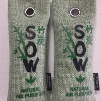 Jual SOW Bamboo Charcoal Penghilang Bau Sepatu dari bahan Natural 75 gr x 2 Murah