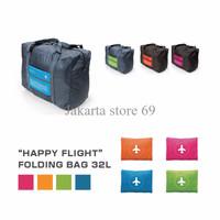 Happy Flight Folding Bag FOLDABLE TRAVEL BAG HAND CARRY TAS LIPAT A377