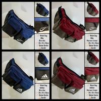 Waist Bag Nike / Adidas Bahan Denim Bordir