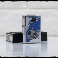 Jual ZIPPO ORIGINAL NFL CAROLINA PANTHERS 447 HIGH POLISH CHROME TAHUN 1997 Murah
