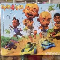 Puzzle / Puzle / Pazel Upin Ipin - belajar mengasah otak anak