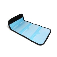 6 Pockets Black Filter Wallet Case for 49mm-82mm Tianya/Cokin