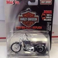 Diecast Maisto Harley Davidson 1:24 -2001 FXSTS Springer Softail