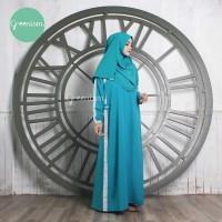 IKLIMA DRESS BY Greenism, Gamis Polos Busui Murah Simpel Elegan