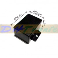 Harga box plastik hitam kecil 1 kuping box | antitipu.com