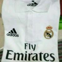 Jual kaos kerah real madrid/polo shirt/adidas/kaos berkerah Murah