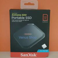PROMO SANDISK SSD PORTABLE EXTREME 120GB USB 3.0 / SSD EXTERNAL 120 GB
