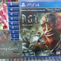 Jual PS4 ATTACK ON TITAN: WINGS OF FREEDOM REG 3 Murah