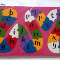 Mainan Edukasi / Edukatif Kayu Puzzle Ular Besar