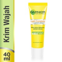 harga Garnier Light Complete White Speed Day Serum Cream Uva/uvb - 40 Ml. Tokopedia.com