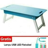 Meja lipat anak / laptop/ lesehan / belajar / ngaji / makan / baca