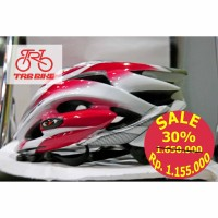HELMET SELEV MATRIX SIL/RED/WHT-M