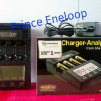 Maha Powerex MH-C9000 Ultra Fast Charger Analyzer 4 Slot AA