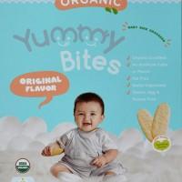 Yummy Bites Original Organic Biskuit Bayi Beras 50 Gr