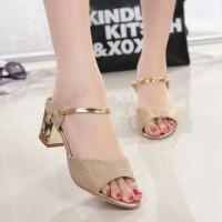 harga Sepatu High Heels Wanita Hak Tahu / Ghs-di Gold Tokopedia.com