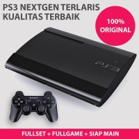 PS3 SS OFW Superslim 320gb Full Game CFW