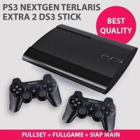 PS3 SS OFW Superslim+2 Stick Super Slim 120gb Full Game CFW Terlaris