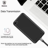 Baseus External Portable Power Pack Battery 3650mAh Case iPhone 7 Plus