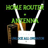 Jual HOME ROUTER 4G HUAWEI B310 UNLOCK ALL OPERATOR +BONUS ANTENA 10db BARU Murah