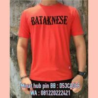 Kaos Distro Batak CKT Bataknese Merah