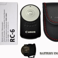 CANON RC-6 RC6 IR WIRELESS CAMERA SHUTTER EOS 7D 6D 60D 550D 600D 650D