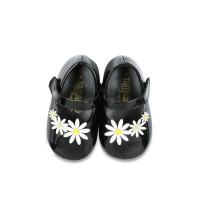 Sepatu Bayi Perempuan Tamagoo-Daisy Black Baby Shoes Prewalker Murah 61ebf3b223