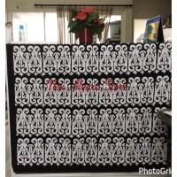 Batik Motif Gorga Batak Hitam Putih