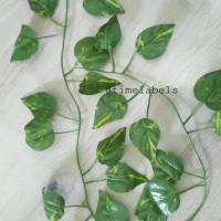 jual daun rambat plastik / tanaman sulur artificial tipe D