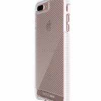 PROMO Tech 21 iPhone 7 Case Evo Check - Clear/White TERLARIS