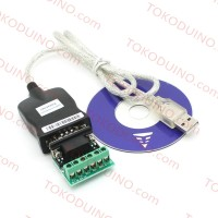 USB 2.0 TO SERIAL RS422 & RS485 ADAPTER CONVERTER CABLE KABEL FTDI