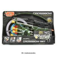 Pistol/Tembakan/Memanah mainan Crossbow 35881L SET PERMAINAN PANAH