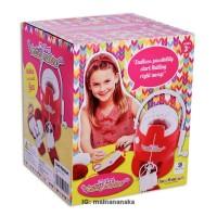 harga Mainan Mesin Rajut - Merah Tokopedia.com
